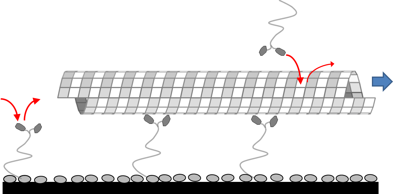 Schematic of the self-assembling track system.